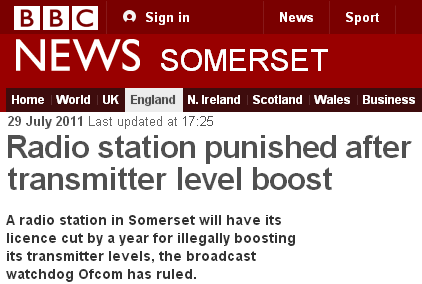 Link to BBC Somerset site