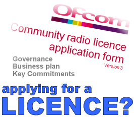 Apply for Ofcom RSL or CR radio licence