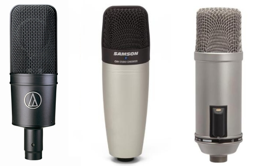 Condensor microphones suitable for Community Radio Broadcasting
