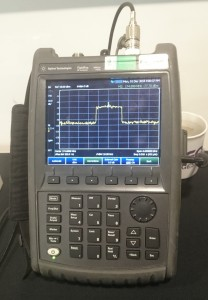 Low cost DAB spectrum analyser